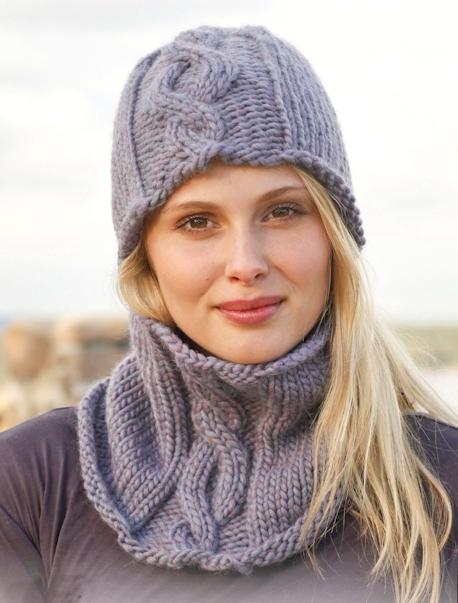 Дропс вязание на русском шарф