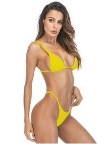 c96c9f3943597 Желтые раздельные купальники купить в Москве